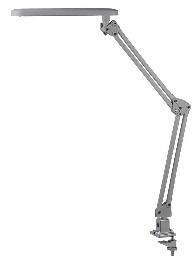 Светильник настольный ЭРА NLED-441 на струбцине,  7Вт,  серебристый [nled-441-7w-s]