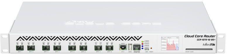 Роутер MIKROTIK CCR1072-1G-8S+,  белый