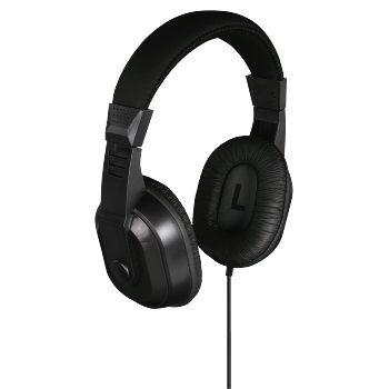 Наушники THOMSON HED4407 TV Hi-Fi, 3.5 мм, мониторы, черный [00132469]