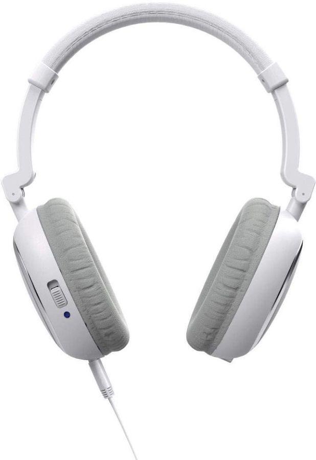 Наушники THOMSON HED2307NCL, 3.5 мм, накладные, белый/серый [00132630]