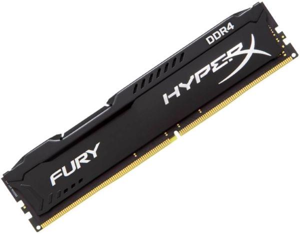 Модуль памяти KINGSTON HyperX FURY Black HX429C17FB2/8 DDR4 -  8Гб 2933, DIMM,  Ret