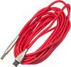 Кабель DIGMA USB A (m),  USB Type-C (m),  3м,  красный вид 1
