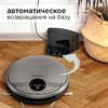 Робот-пылесос REDMOND RV-R500, 25Вт, серебристый/черный вид 13