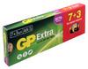 AA Батарейка GP Extra Alkaline 15AX LR6,  10 шт. вид 1