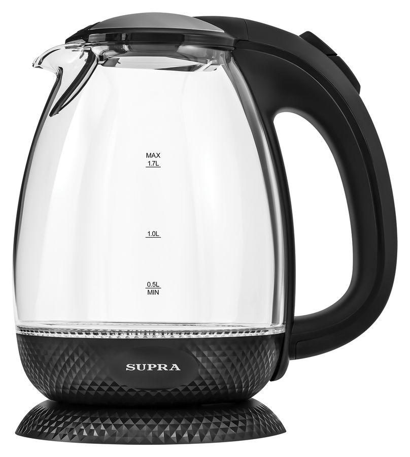 Чайник электрический SUPRA KES-2011, 2200Вт, черный