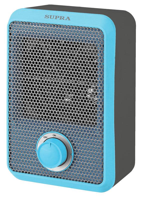 Тепловентилятор SUPRA TVS-F08,  800Вт,  серый,  синий