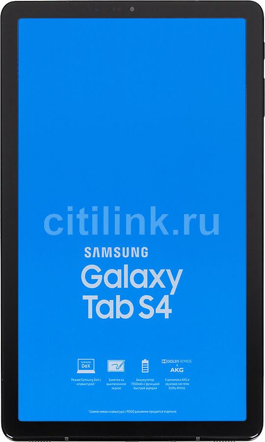 Планшет SAMSUNG Galaxy Tab S4 SM-T835N,  4GB, 64GB, 3G,  4G,  Android 8.1 черный [sm-t835nzkaser]