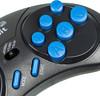 Игровая консоль SEGA Mega Drive с двумя игровыми джойстиками и 400 встроенных игр,  Magistr Titan 2, черный вид 9
