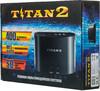 Игровая консоль SEGA Mega Drive с двумя игровыми джойстиками и 400 встроенных игр,  Magistr Titan 2, черный