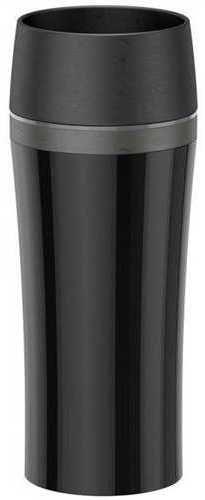 Термокружка TEFAL Travel Mug FUN K3071114, 0.36л, черный