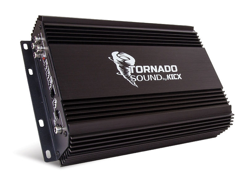 Усилитель автомобильный KICX Tornado Sound 800.1,  черный [2069040]