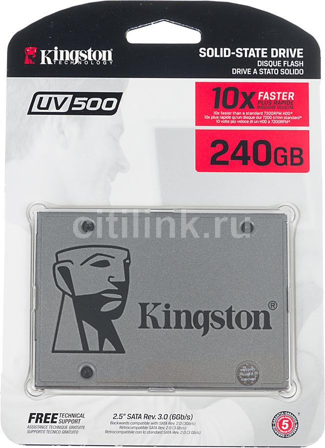 "SSD накопитель KINGSTON UV500 SUV500/240G 240Гб, 2.5"", SATA III"