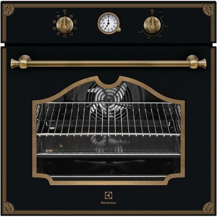 Духовой шкаф ELECTROLUX OPEB2320R,  черный матовый