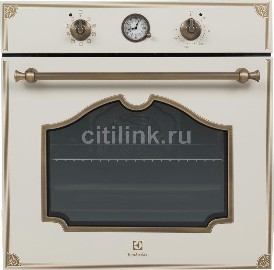 Духовой шкаф ELECTROLUX OPEB2320V,  кремовый