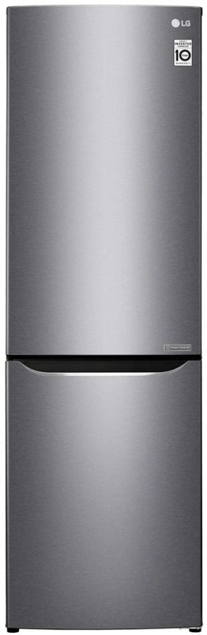 Холодильник LG GA-B419SLJL,  двухкамерный, серебристый