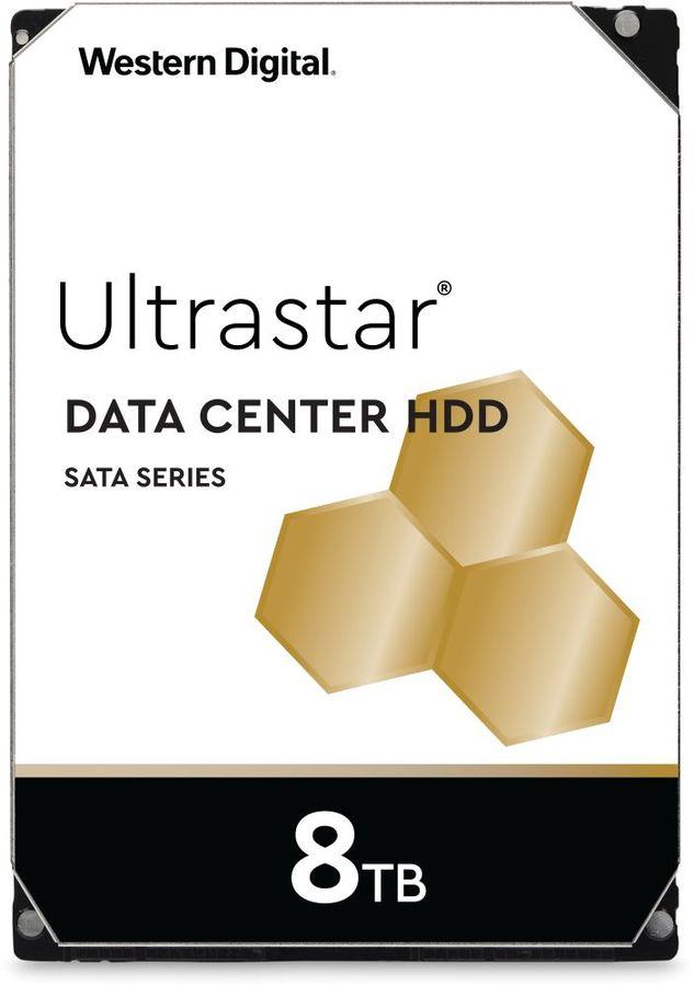 "Жесткий диск WD Ultrastar DC HC320 HUS728T8TALE6L4,  8Тб,  HDD,  SATA III,  3.5"" [0b36404]"