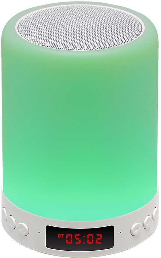 Портативная колонка GINZZU GM-893W,  5Вт, белый