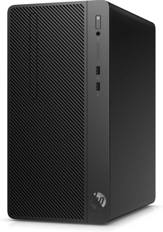 Компьютер  HP 290 G2,  Intel  Core i5  8500,  DDR4 4Гб, 500Гб,  Intel UHD Graphics 630,  DVD-RW,  CR,  Windows 10 Professional,  черный [4vf85ea]