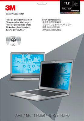 """Экран защиты информации 3M PF173W9B для ноутбука 17.3"""", 16:9, черный [7000014519]"""