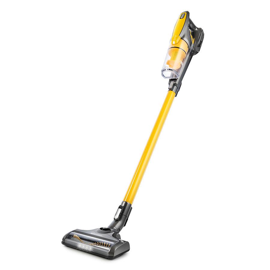 Ручной пылесос (handstick) KITFORT КТ-534-1, 110Вт, золотистый/серый