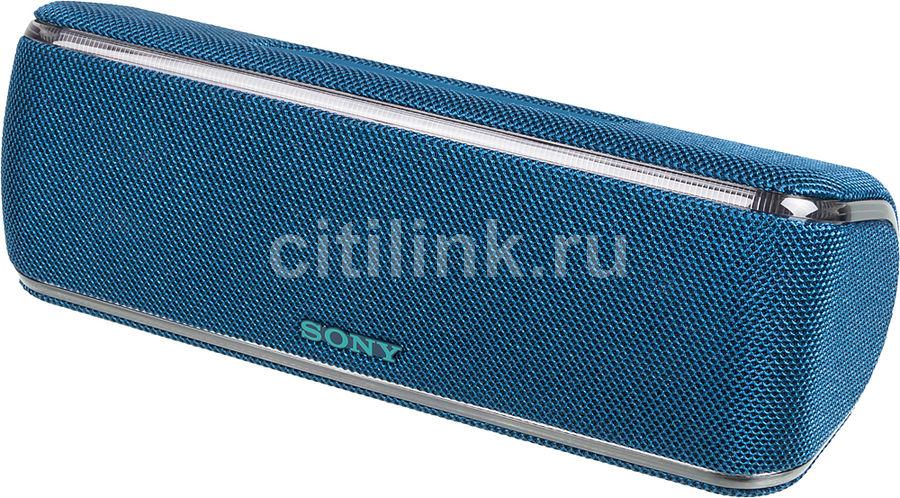 Портативная колонка SONY SRS-XB41,  50Вт, синий  [srsxb41l.ru4]