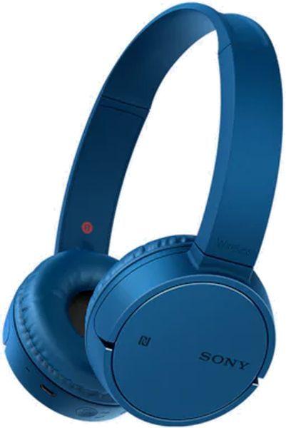 Наушники с микрофоном SONY WH-CH500, Bluetooth, накладные, синий [whch500l.e]