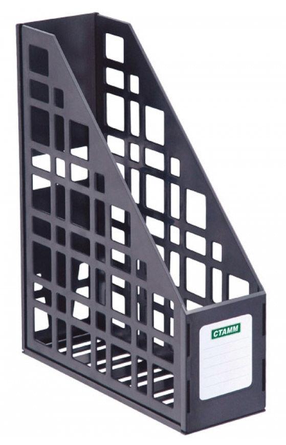 Лоток вертикальный Стамм ЛТ12 сборный 85х250х295мм черный пластик