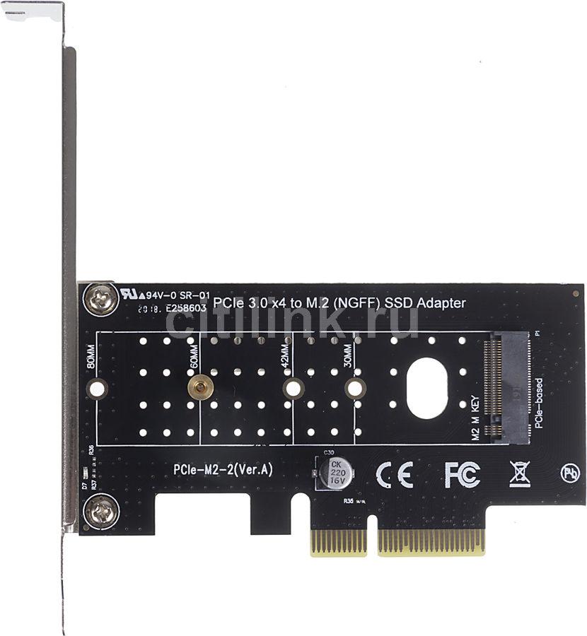 Купить Адаптер PCI-E M.2 NGFF for SSD Bulk в интернет-магазине СИТИЛИНК, цена на Адаптер PCI-E M.2 NGFF for SSD Bulk (1083421) - Нижнекамск