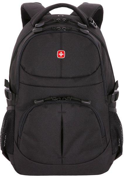 Рюкзак Wenger черный 3001202408 33x15x45см 22л.