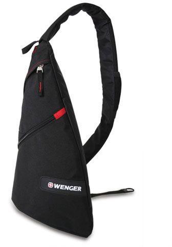 Рюкзак Wenger черный/красный 18302130 25x15x45см 7л.