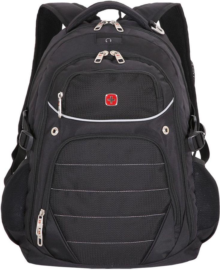 Рюкзак Wenger черный 3107202410 33x20x47см 32л.