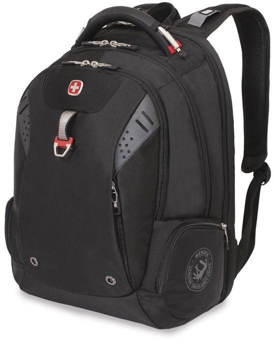 Рюкзак Wenger 900D черный 5902201416 32x24x46см 34л.
