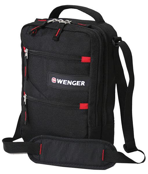 Сумка-планшет Wenger черный 18262166 22x10x29см