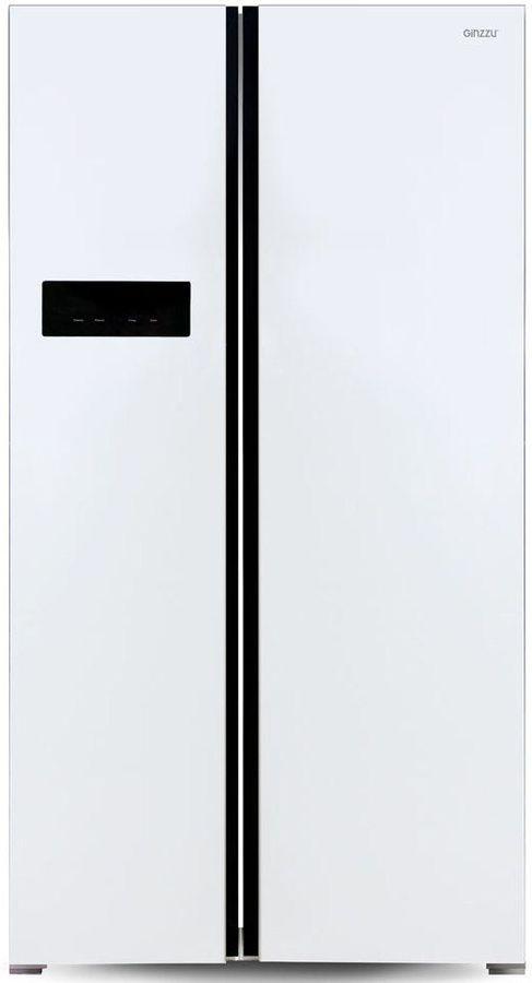 Холодильник GINZZU NFK-605,  двухкамерный, белый