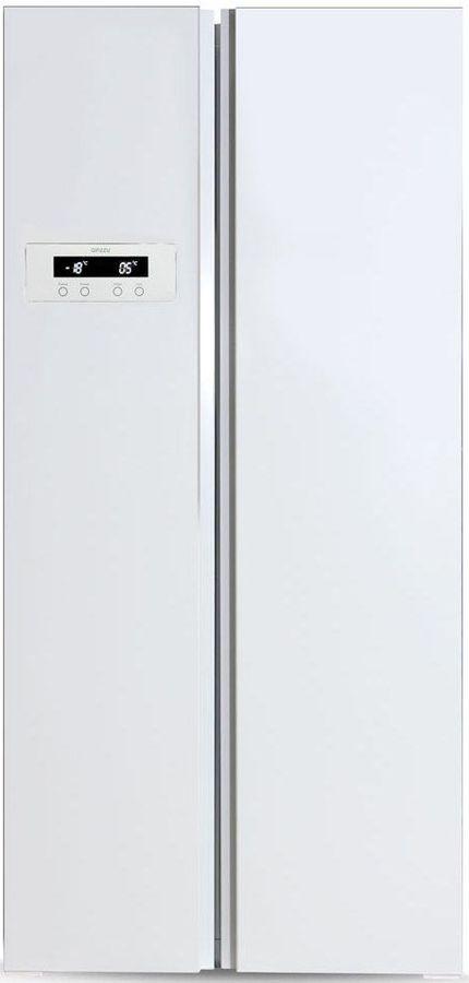 Холодильник GINZZU NFK-465,  двухкамерный, белый