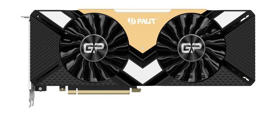 Видеокарта PALIT nVidia  GeForce RTX 2080Ti ,  PA-RTX2080TI Gaming Pro OC 11G,  11Гб, GDDR6, OC,  Ret [ne6208ts20lc-150a]