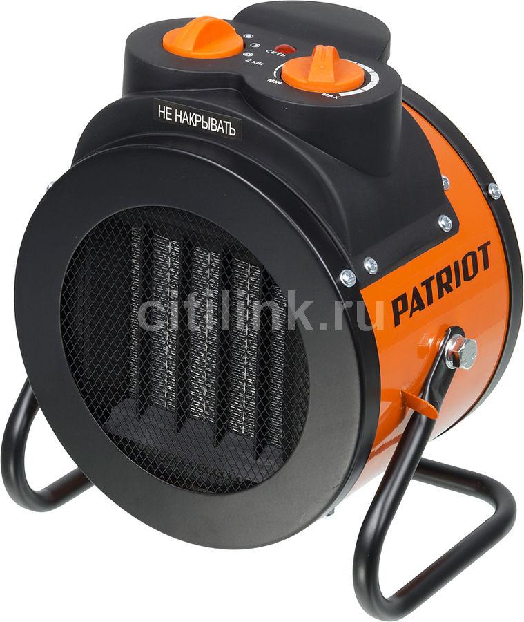 Тепловая пушка электрическая PATRIOT PTR 3S,  2кВт оранжевый [633307206]
