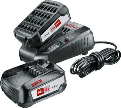Батарея аккумуляторная Bosch PBA + AL 1830 CV 18В 2.5Ач Li-Ion (1600A011LD)
