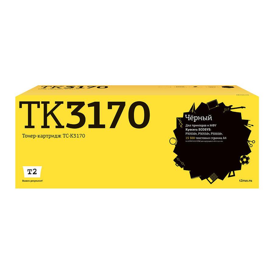 Картридж T2 TC-K3170, черный