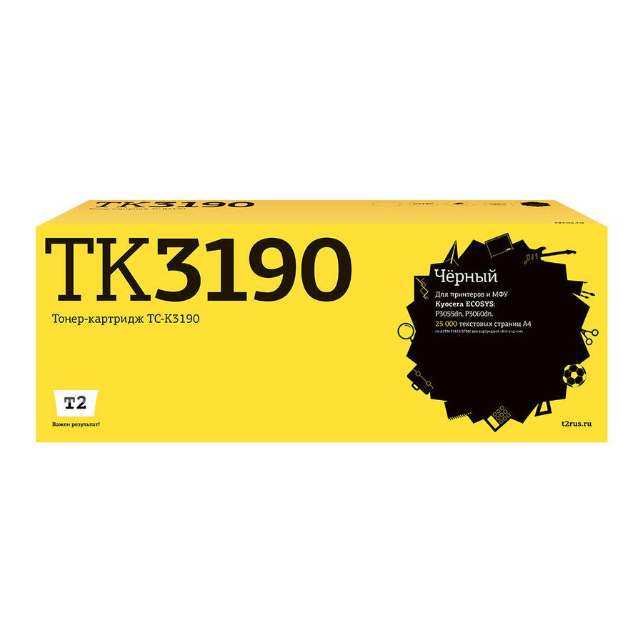 Картридж T2 TC-K3190, черный