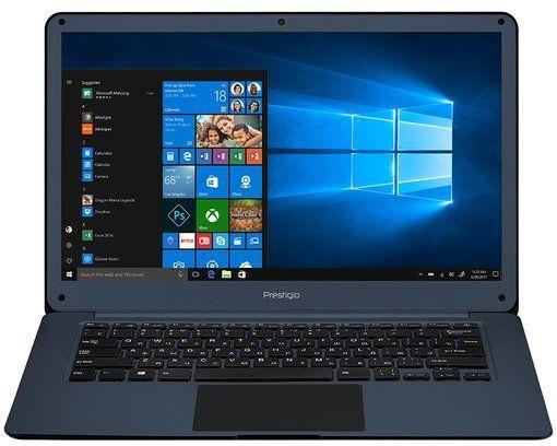 "Ноутбук PRESTIGIO SmartBook 141C2, 14.1"",  IPS, Intel  Celeron  N3350 1.1ГГц, 3Гб, 32Гб eMMC,  Intel HD Graphics  500, Windows 10 Home, PSB141C02ZFH_BB_CIS,  темно-синий"