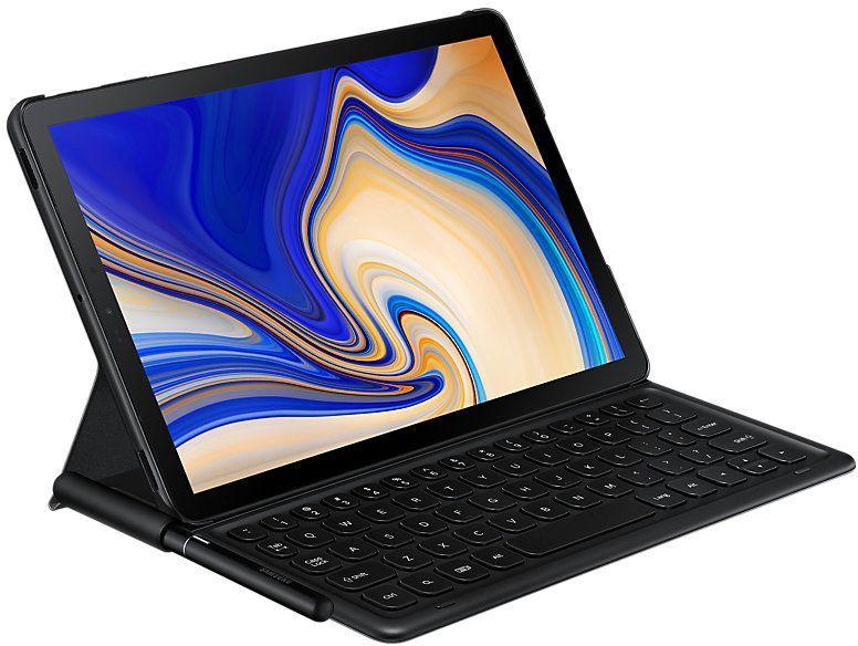 Чехол-клавиатура SAMSUNG EJ-FT830BBRGRU,  черный, для  Samsung Galaxy Tab S4