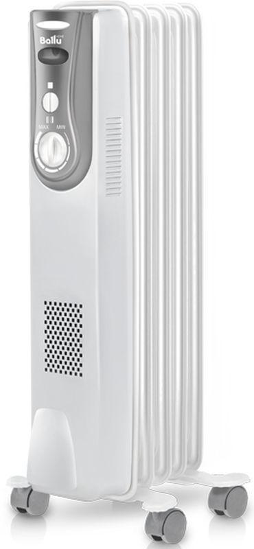 Масляный радиатор BALLU Level BOH/LV-05, 1000Вт, белый [нс-1163569]