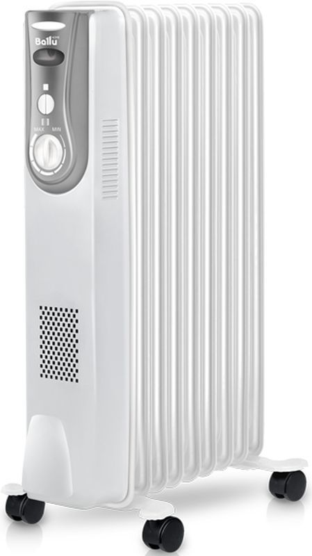 Масляный радиатор BALLU Level BOH/LV-09, 2000Вт, белый [нс-1163571]