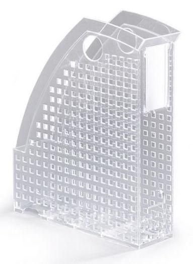 Лоток вертикальный Durable 1701625400 Trend A4 74x305x244мм прозрачный