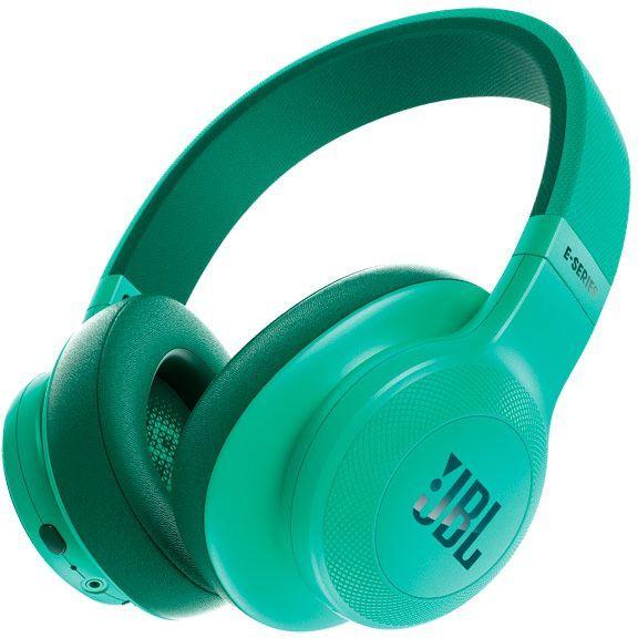 Наушники с микрофоном JBL E55BT Lifestyle, 3.5 мм/Bluetooth, мониторы, мятный [jble55bttel]