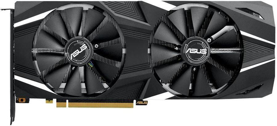 Видеокарта ASUS nVidia  GeForce RTX 2080 ,  DUAL-RTX2080-O8G,  8Гб, GDDR6, OC,  Ret