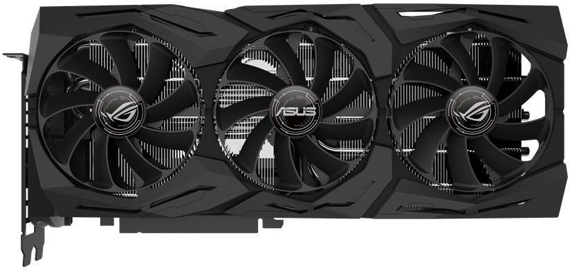 Видеокарта ASUS nVidia  GeForce RTX 2080 ,  ROG-STRIX-RTX2080-O8G-GAMING,  8Гб, GDDR6, OC,  Ret