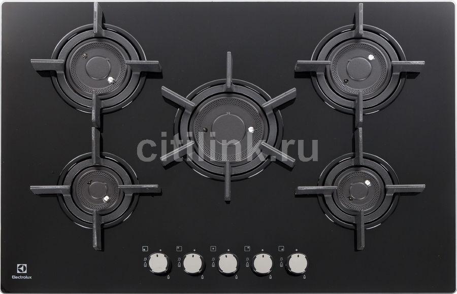 Варочная панель ELECTROLUX EGT97657NK,  независимая,  черный