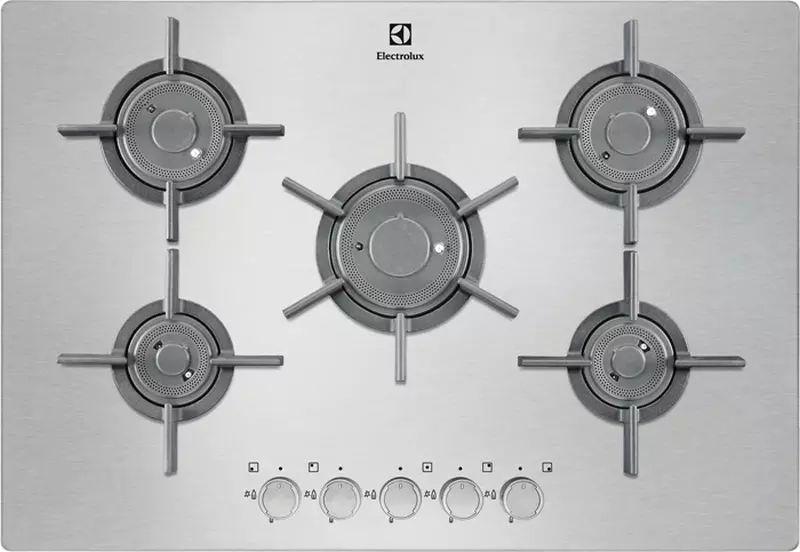 Варочная панель ELECTROLUX EGU97657NX,  независимая,  нержавеющая сталь